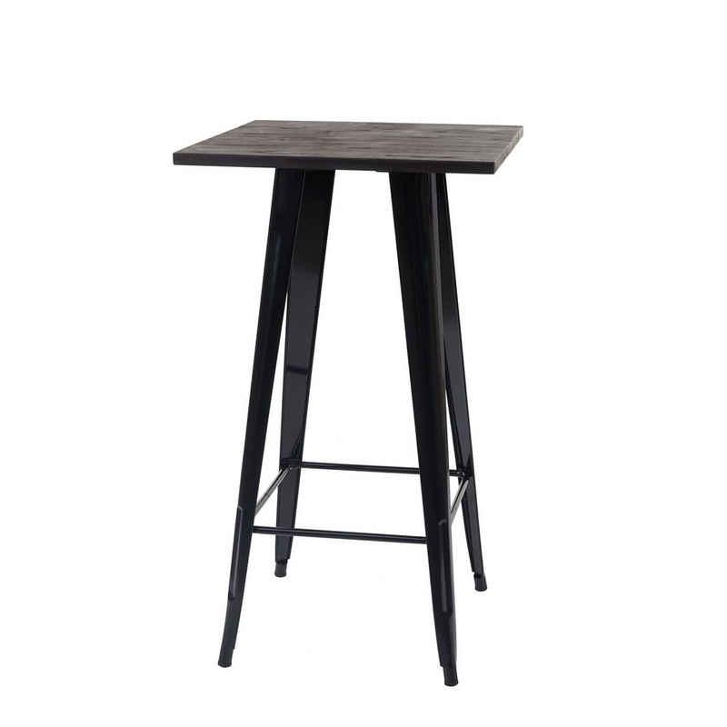 MCW Bartisch »MCW-A73-Tisch«, Industriedesign, Holztischplatte