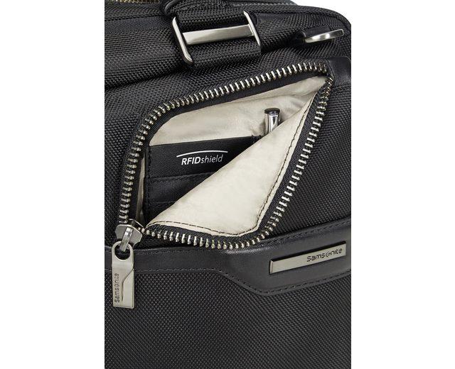 Samsonite Businesstasche mit Trolley-Aufsteck-System, Laptop- und Tabletfach, GT Supreme