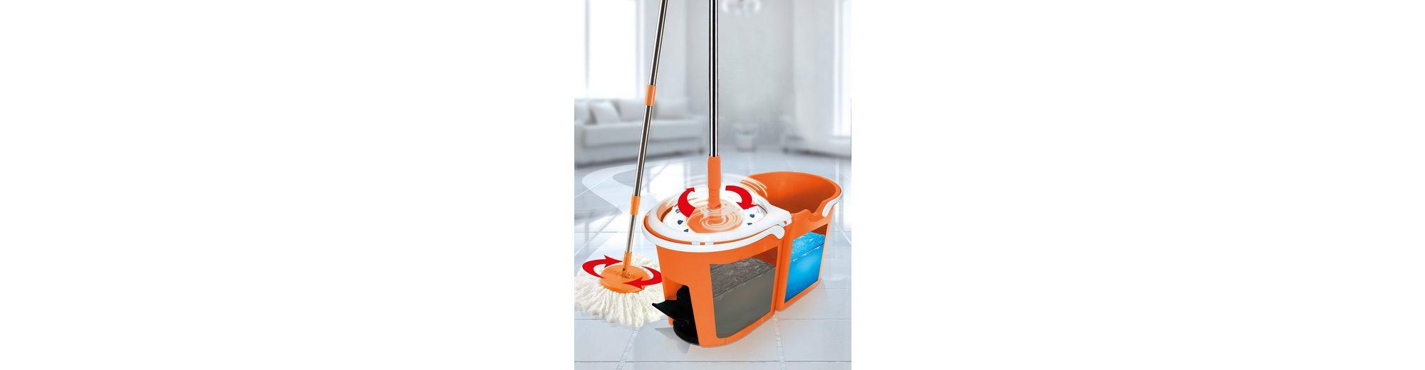 TV Werbung HSP, Putzglück Clever Spin Boden-Wischsystem Premium-Orange