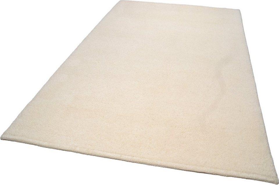 Hochflor-Teppich, Theko, »Fedja«, Höhe 26 mm, Berber, handgeknüpft in natur