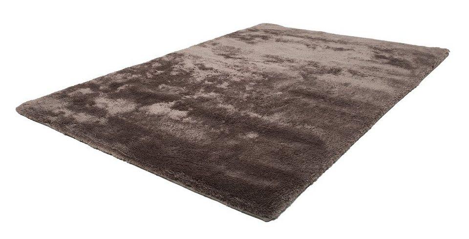 Hochflor-Teppich, Obsession, »Dolphin 500«, Höhe 37 mm, handgetuftet in kokosnuss