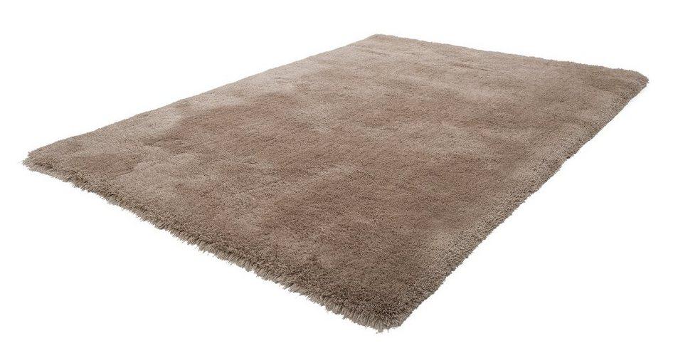 Hochflor-Teppich, Obsession, »Oasis 660«, Höhe 40 mm, handgetuftet in beige