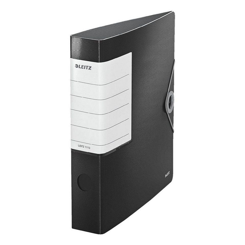 Leitz Ordner »180° Solid« in schwarz