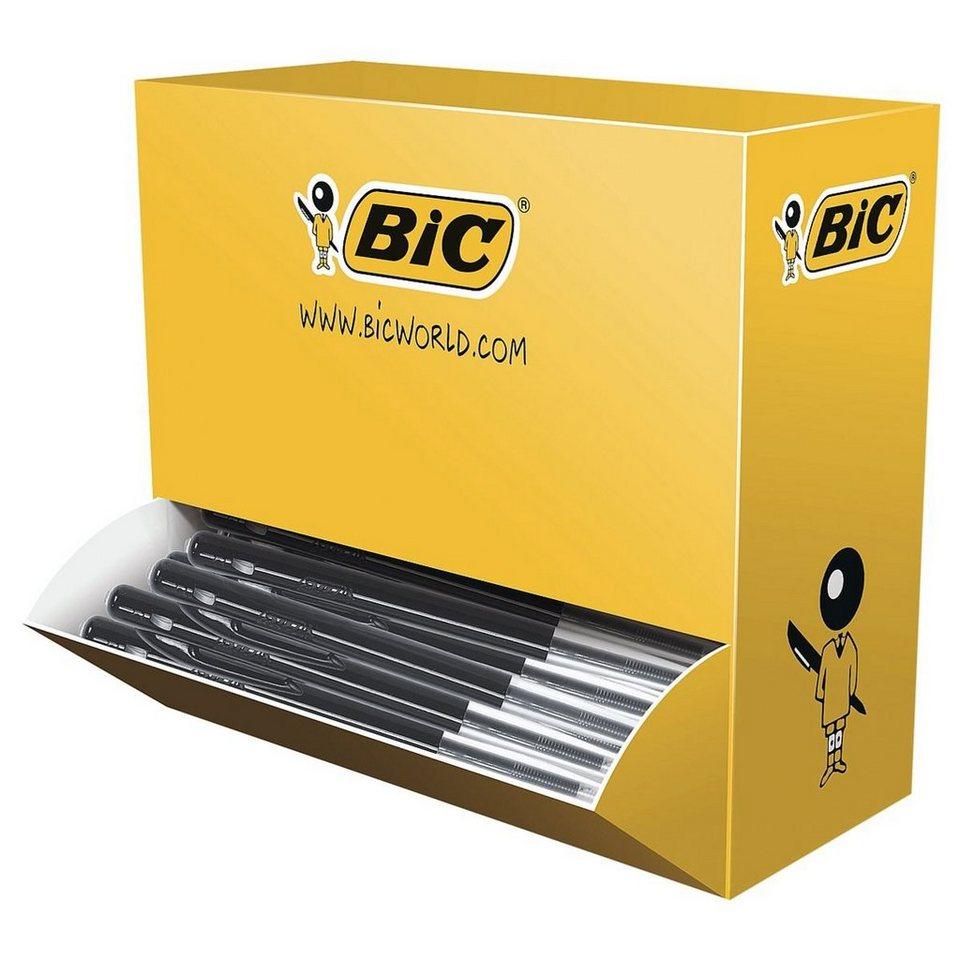 BIC 100er-Pack Druckkugelschreiber »M10« in schwarz