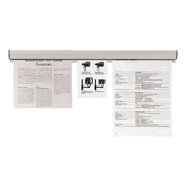 FRANKEN Papierklemmschiene 150 cm »PKS150«