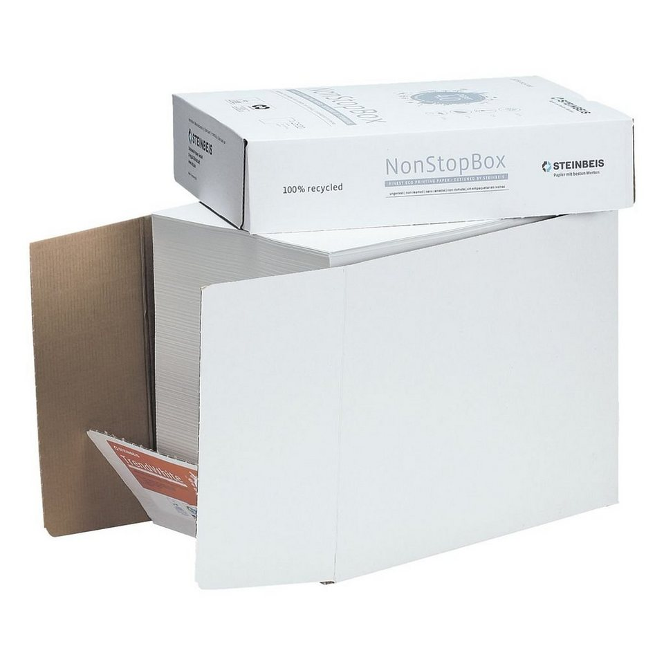 Steinbeis Öko-Box Recyclingpapier »Trend White«
