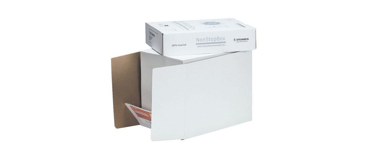 Steinbeis Öko-Box Recyclingpapier »Trend White«