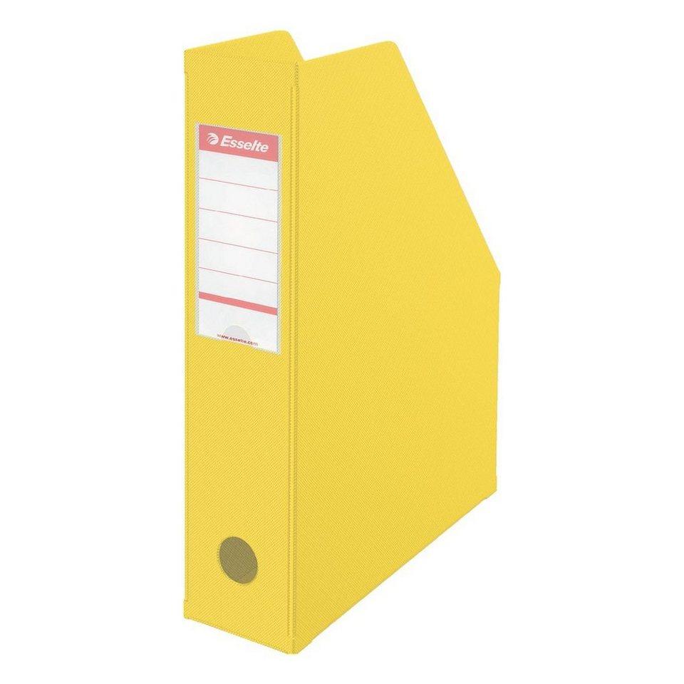 Esselte Stehsammler »Vivida« in gelb