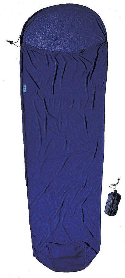 Cocoon Schlafsack »MummyLiner Inlet CoolMax« in blau