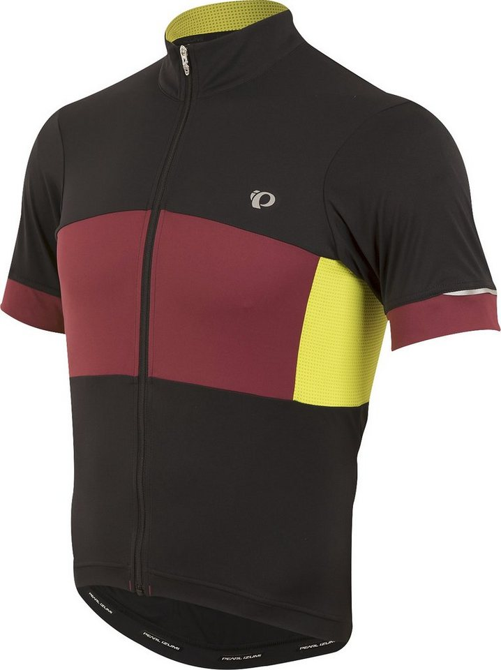 PEARL iZUMi Radtrikot »ELITE Escape S.F. Jersey Men tibetan lime« in schwarz