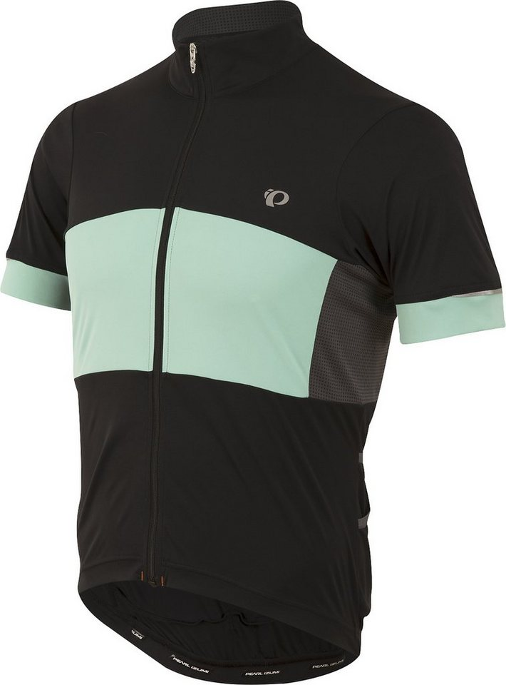 PEARL iZUMi Radtrikot »ELITE Escape S.F. Jersey Men black/aqua mint« in schwarz