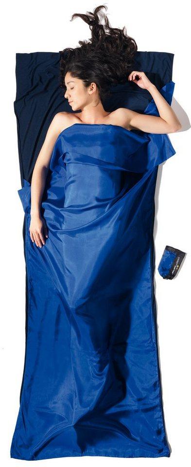 Cocoon Schlafsack »TravelSheet Inlet Ripstop Silk/Thermolite« in blau