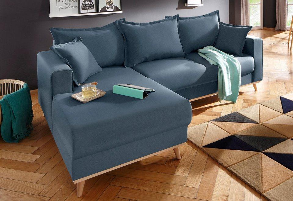 Home affaire Ecksofa »Edina«, im skandinavischem Stil online kaufen ...