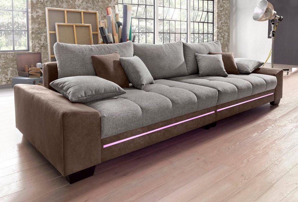 Big Sofa Mit Beleuchtung, Wahlweise Mit Bluetooth Soundsystem