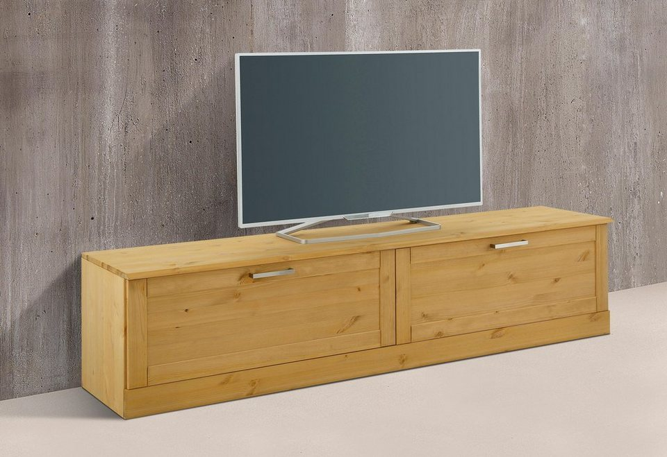 Home affaire Lowboard »Santorin«, Breite 175 cm in gelaugt/geölt