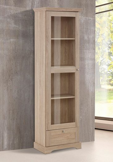 home affaire vitrine anna h he 180 cm 1 trg otto. Black Bedroom Furniture Sets. Home Design Ideas