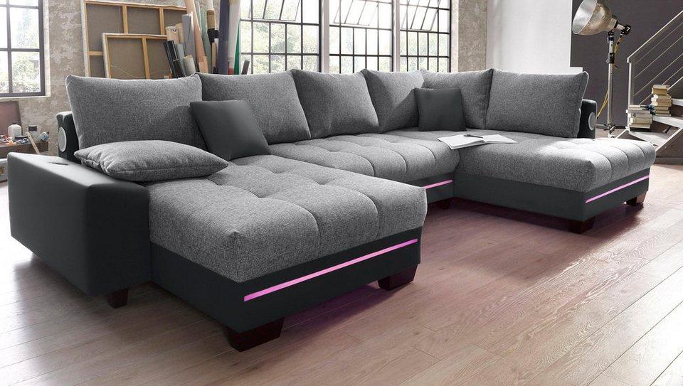 ecksofa mit led und sound trendy affordable tv board mit kamin hnge gallery of free stand. Black Bedroom Furniture Sets. Home Design Ideas