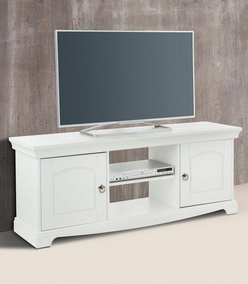 Home affaire Lowboard »Juara 3«, Breite 135cm, mit 2 Türen in weiß