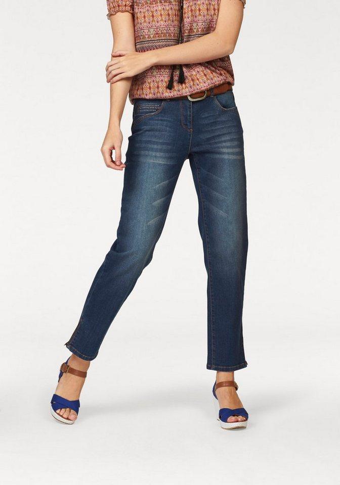 Cheer 5-Pocket-Jeans in darkblue-used