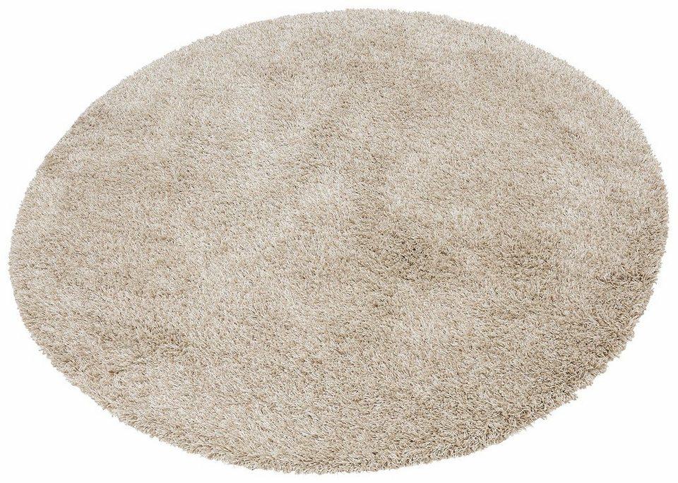 hochflor teppich denver merinos rund h he 50 mm. Black Bedroom Furniture Sets. Home Design Ideas