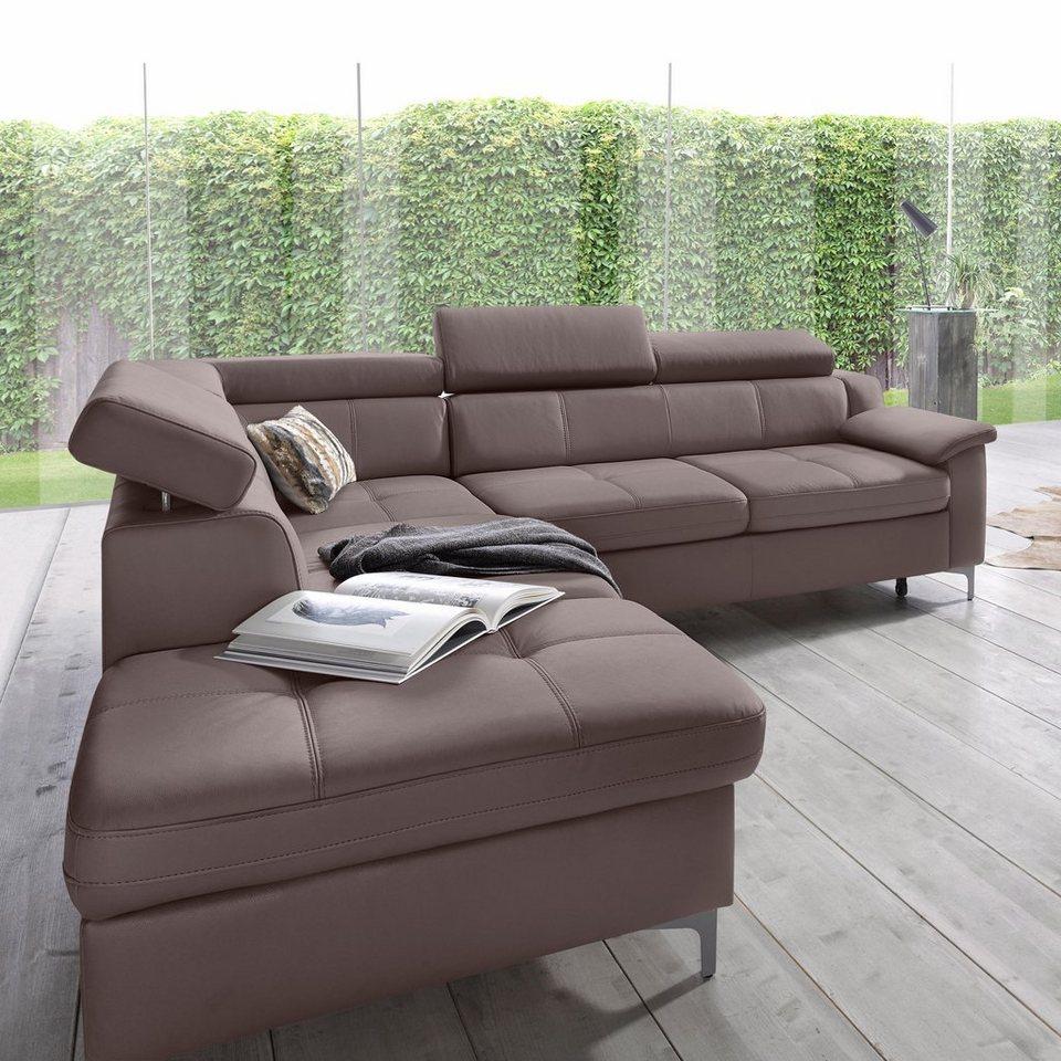 exxpo sofa fashion ecksofa wahlweise mit bettfunktion online kaufen otto. Black Bedroom Furniture Sets. Home Design Ideas