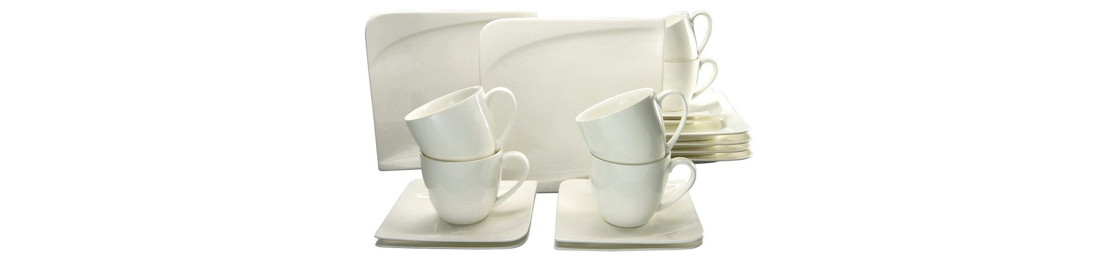 CreaTable Kaffeeservice, Porzellan, 18 Teile, »Java«