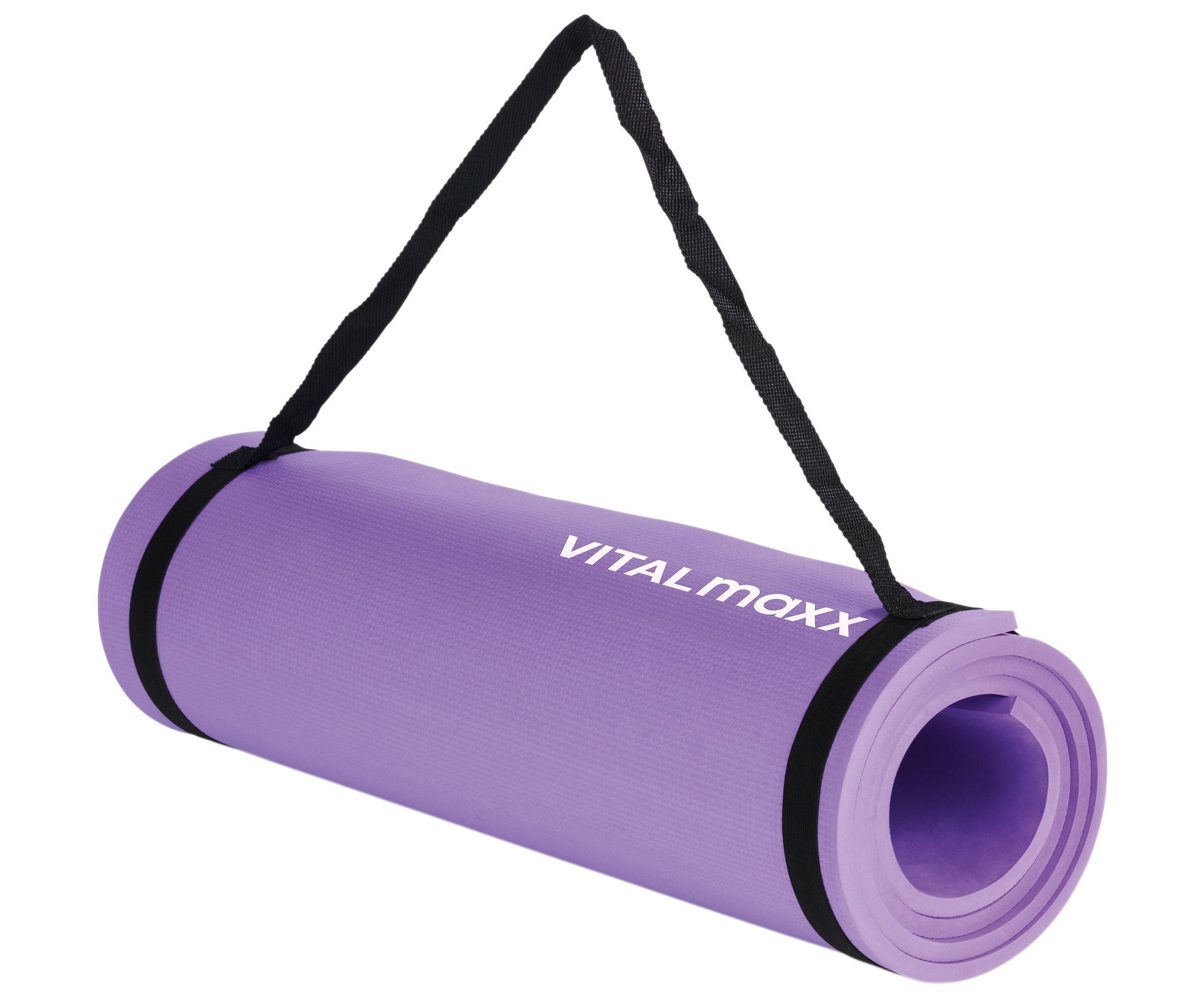 VITALmaxx Fitness-Matte lila
