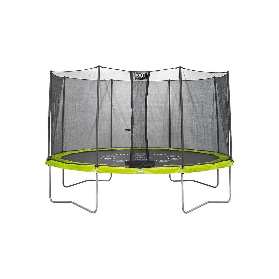exit twist trampolin gr n grau 366 cm kaufen otto. Black Bedroom Furniture Sets. Home Design Ideas