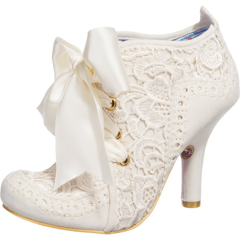 Irregular Choice Abigail's Third Party Stiefeletten in creme