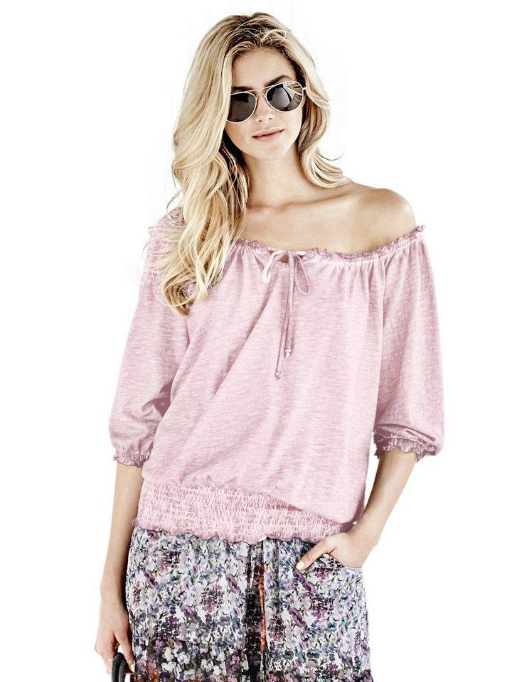 Carmenshirt in rosé