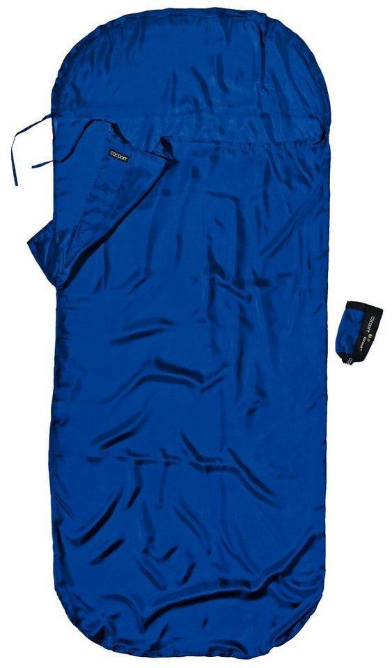 Cocoon Schlafsack »KidSack Inlet Silk« in blau