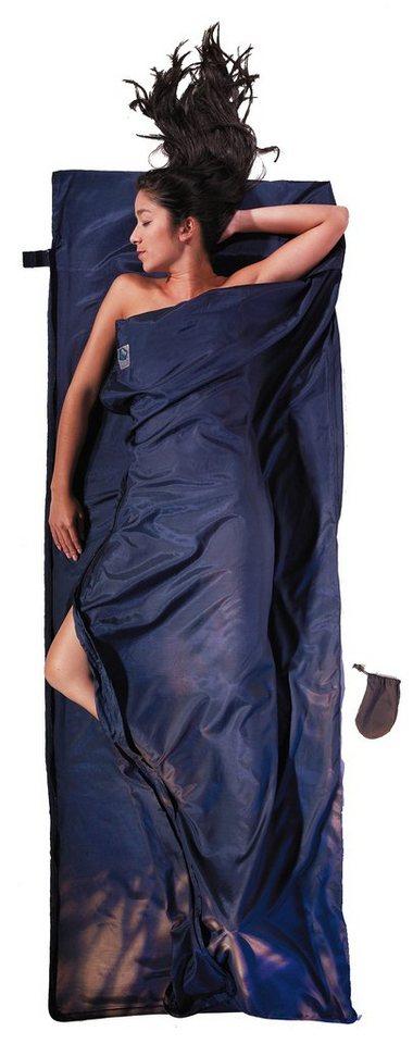 Cocoon Schlafsack »TravelSheet-Coupler Inlet Silk Cotton« in blau