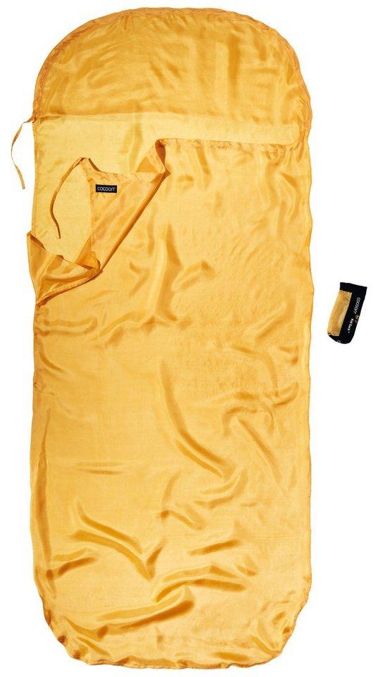 Cocoon Schlafsack »KidSack Inlet Silk« in gelb