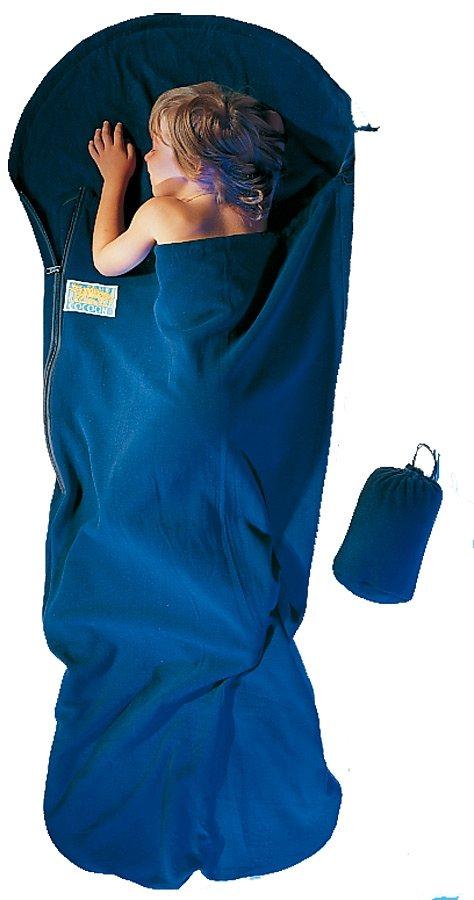 Cocoon Schlafsack »KidBag Inlet Fleece« in blau