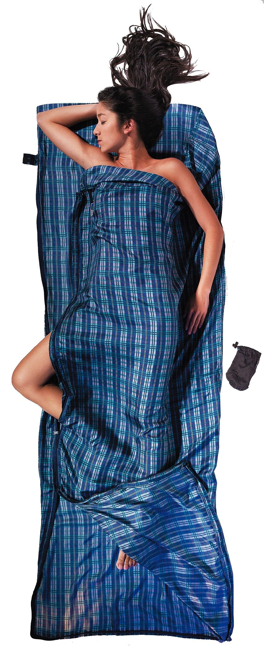 Cocoon Schlafsack »TravelSheet-Coupler Inlet Silk«