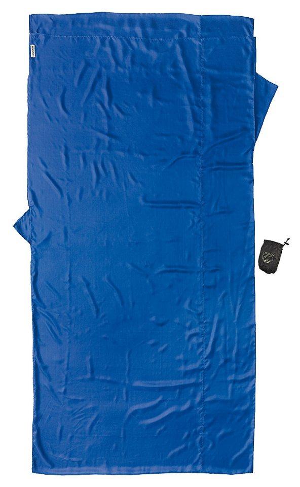 Cocoon Schlafsack »TravelSheet Inlet Silk XL« in blau