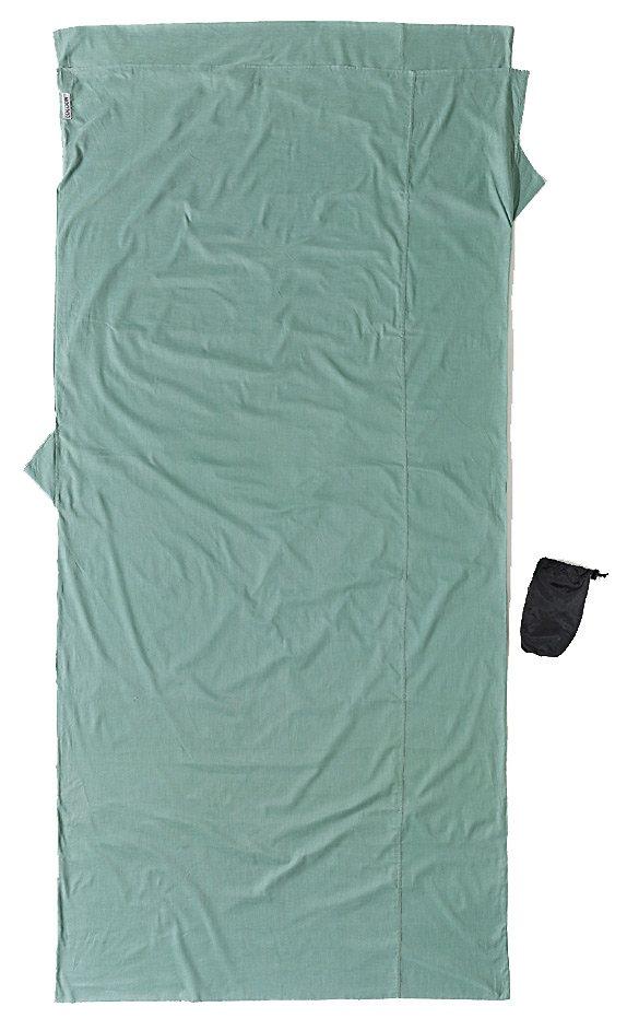 Cocoon Schlafsack »TravelSheet Inlet Cotton XL« in grün