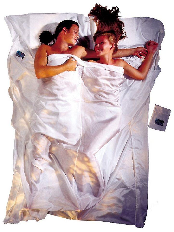 Cocoon Schlafsack »TravelSheet Inlet Doublesize Silk« in weiß