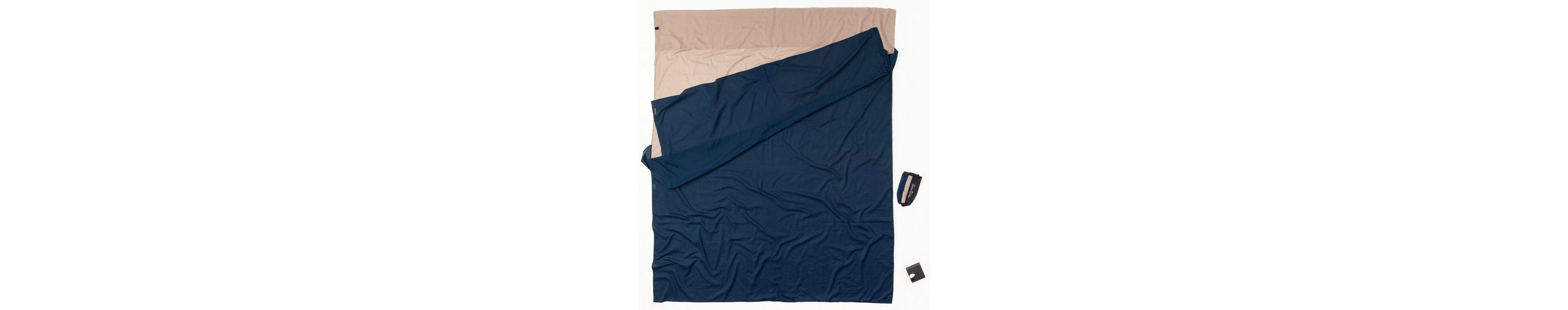 Cocoon Schlafsack »TravelSheet Inlet Doublesize Egyptian Cotton«