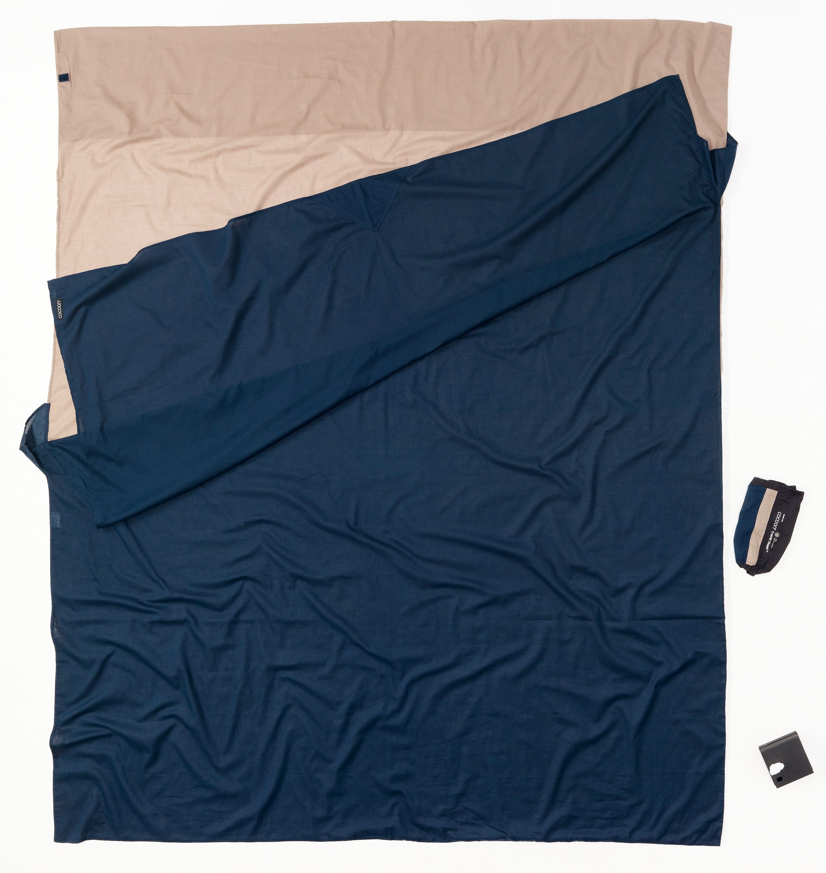 Cocoon Schlafsack »TravelSheet Inlet Doublesize Silk«