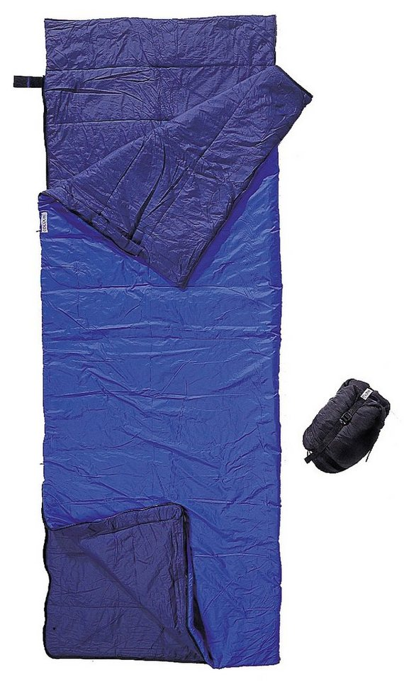 Cocoon Schlafsack »Tropic Traveler Sleeping Bag Nylon Long« in blau