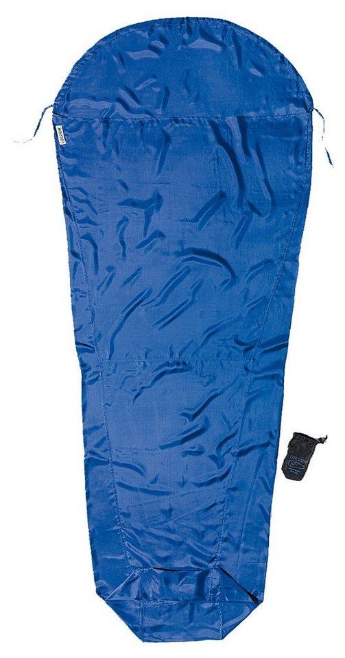 Cocoon Schlafsack »MummyLiner Inlet Silk S« in blau