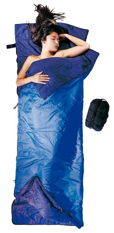 Cocoon Schlafsack »Tropic Traveler Sleeping Bag Silk Long« in blau