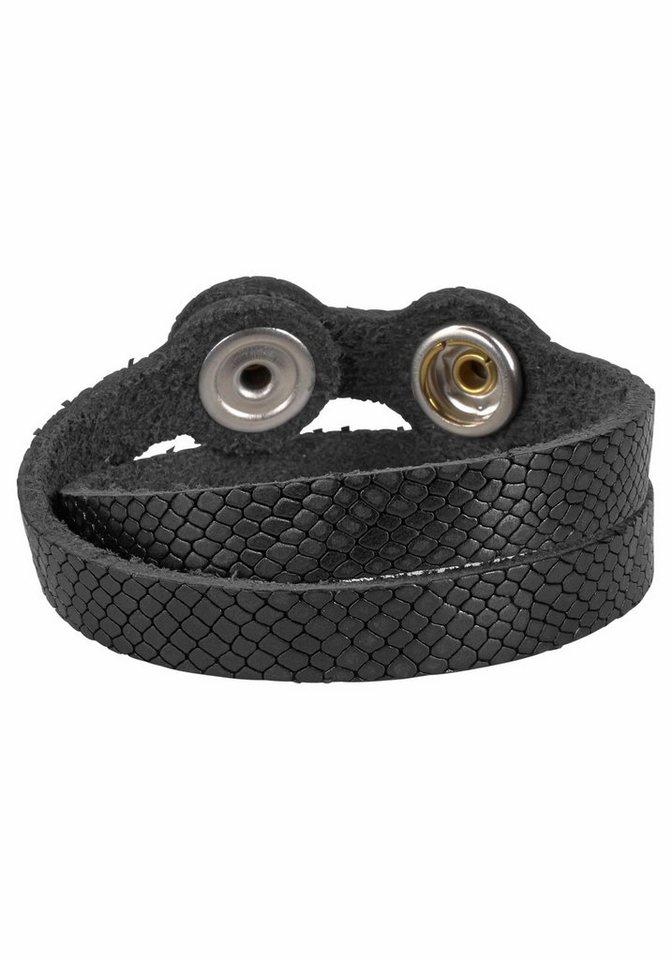J. Jayz Armband zum Wickeln in schwarz