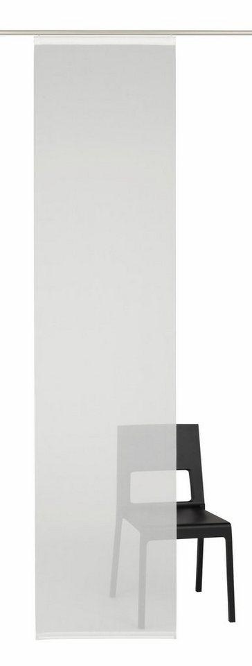 schiebegardine rona uni deko trends klettband 1 st ck ohne montagezubeh r online kaufen. Black Bedroom Furniture Sets. Home Design Ideas
