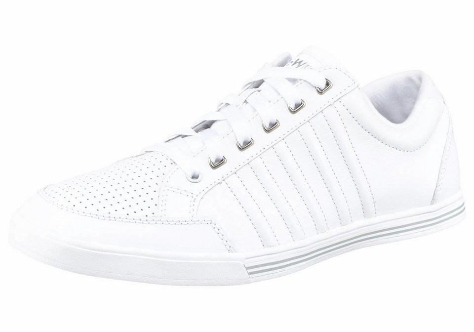 K-Swiss Set Court Sneaker in Weiß