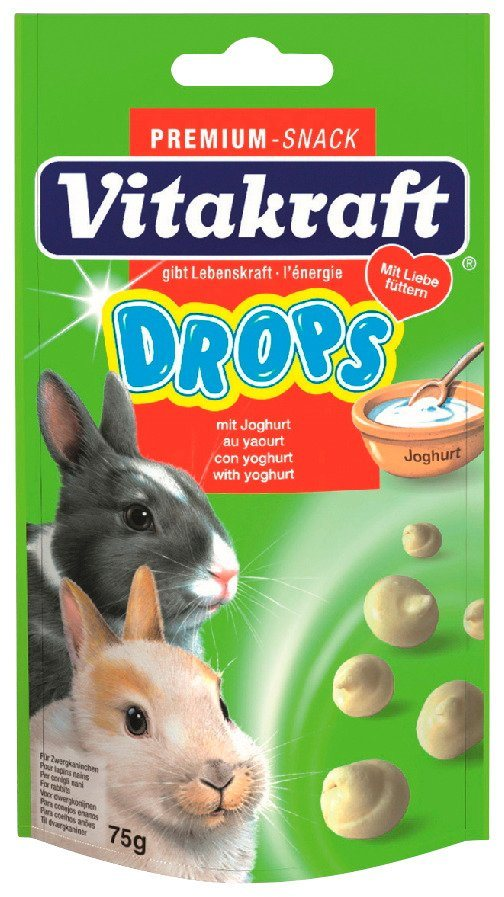 Kaninchenfutter »250g Carotties & 5x Drops « in braun