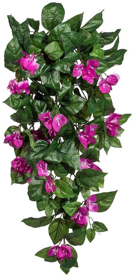 Kunstpflanze »Bougainvilleahänger« lila (H: 90 cm) in lila