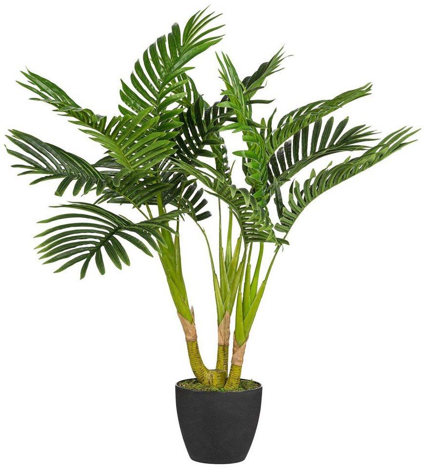 Kunstpflanze »Kentiapalme« inkl. Pflanzgefäß (H: 70 cm) in grün