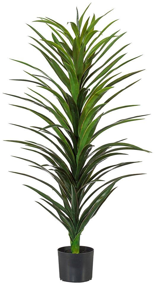 Kunstpflanze »Yucca« in grün